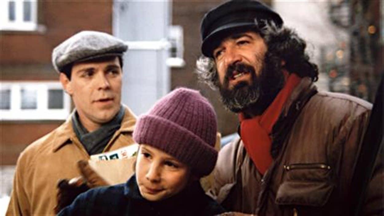 André Melançon dirige Mahée Paiement et Raymond Legault dans le film «Bach et bottine»