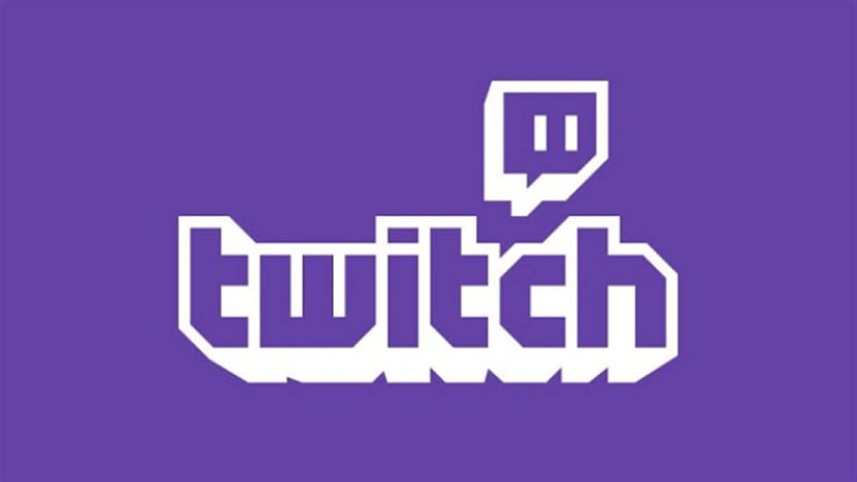 Le logo du site Twitch
