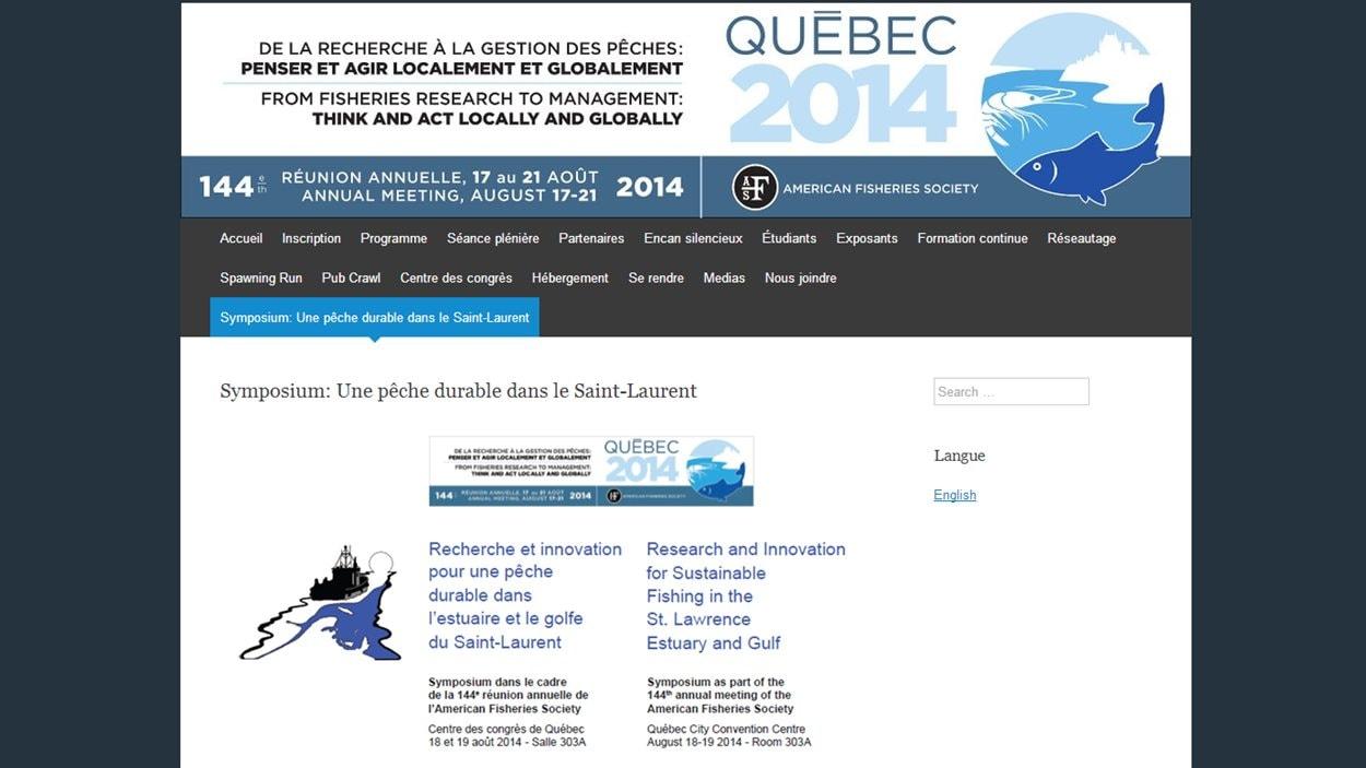 Présentation du Québec lors de la réunion annuelle de l'AFS