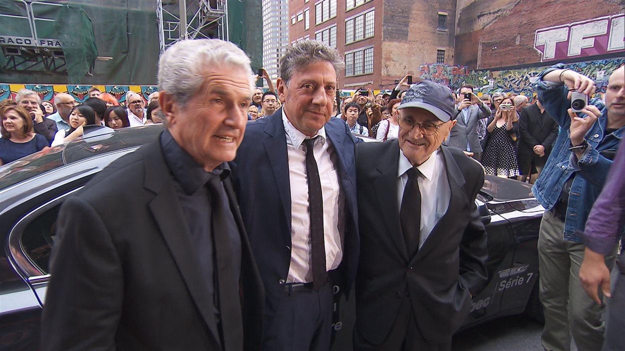 Le tapis rouge du 38e Festival des films du monde, avec Claude Lelouch et Serge Losique