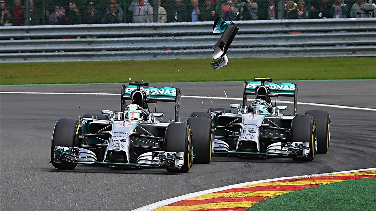 Ricciardo en profite, Mercedes-Benz en crise | Radio-Canada.ca