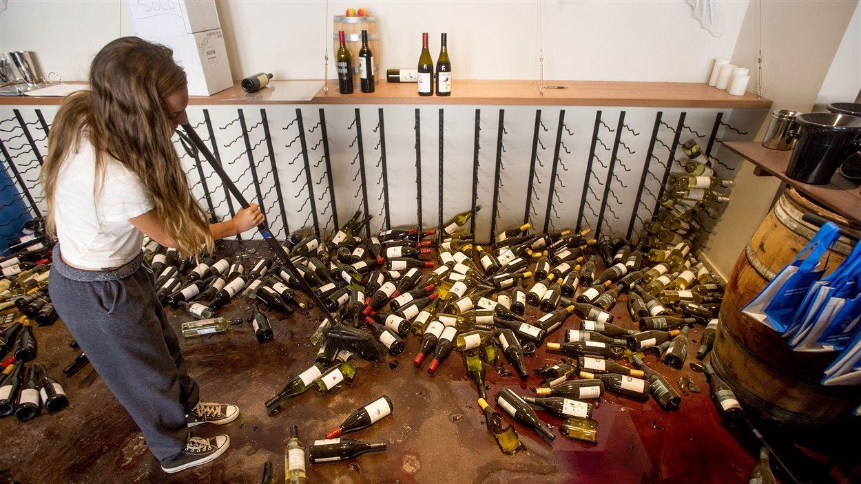 Les pertes sont lourdes pour les entreprises viticoles