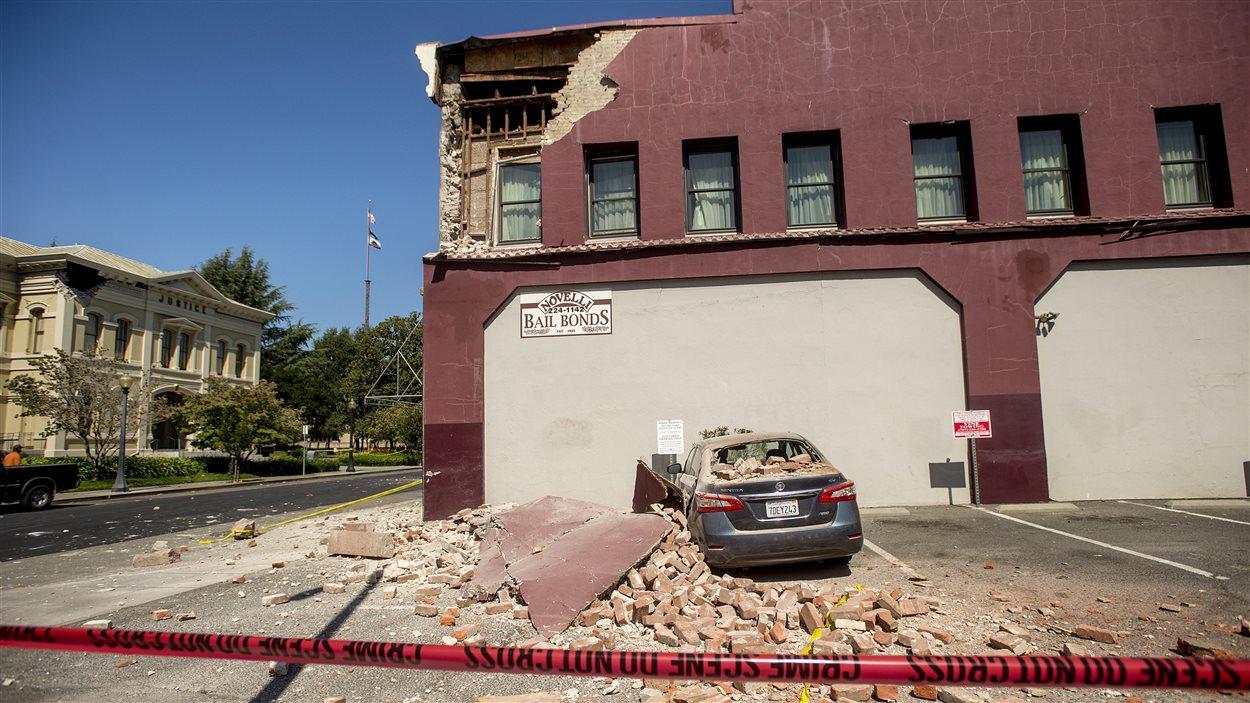Plusieurs bâtiments historiques de Napa ont subi des dommages