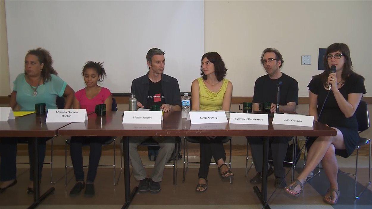Conférence de presse du Collectif éducation sans frontières