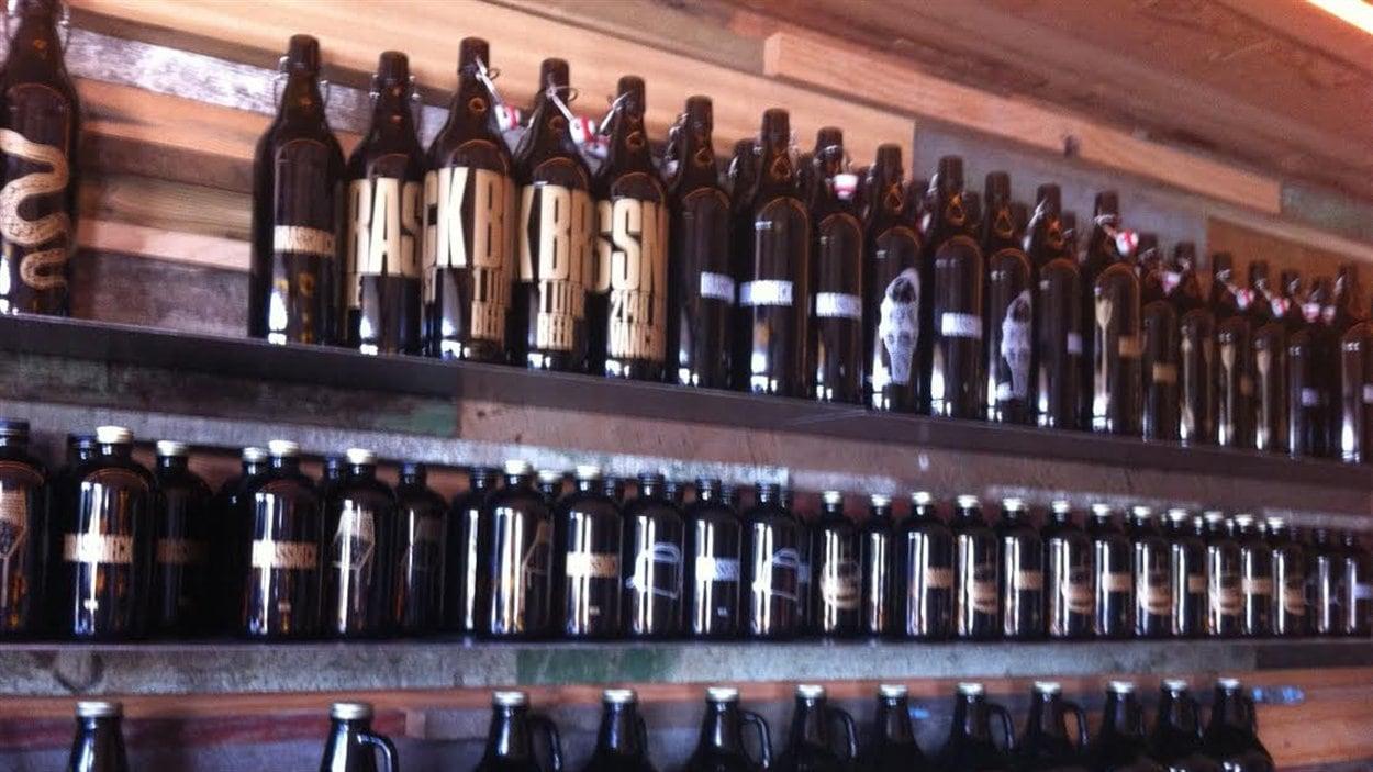 La part de marché occupée par la bière locale en Colombie-Britannique a connu une croissance d'environ 13 % en cinq ans.