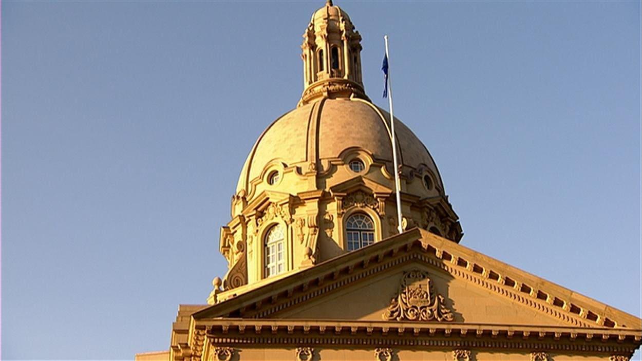 Édifice de l'assemblée législative, Edmonton.