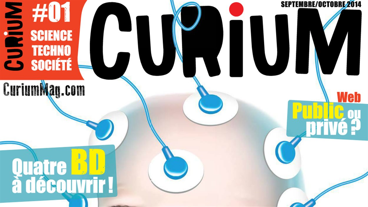 La magazine Curium est destiné aux adolescents de 14 à 17 ans.