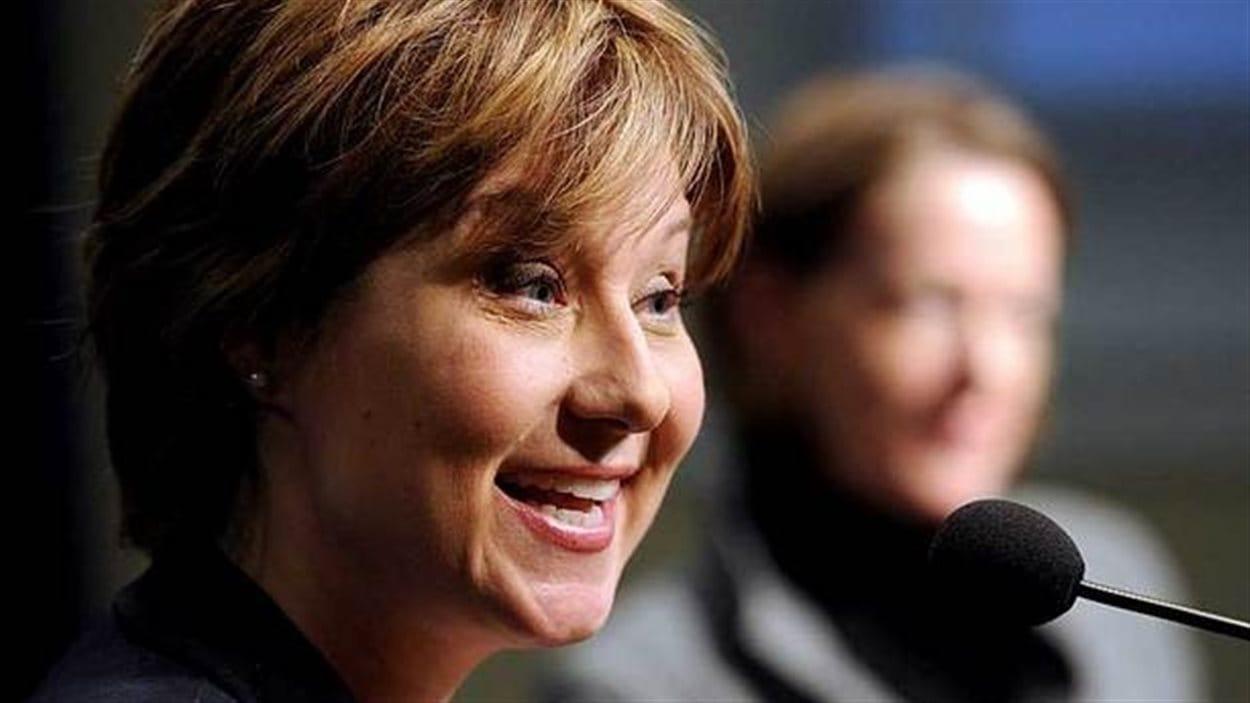 La première ministre de la Colombie-Britannique, Christy Clark, voit d'un bon oeil l'entente conclue avec la Saskatchewan.