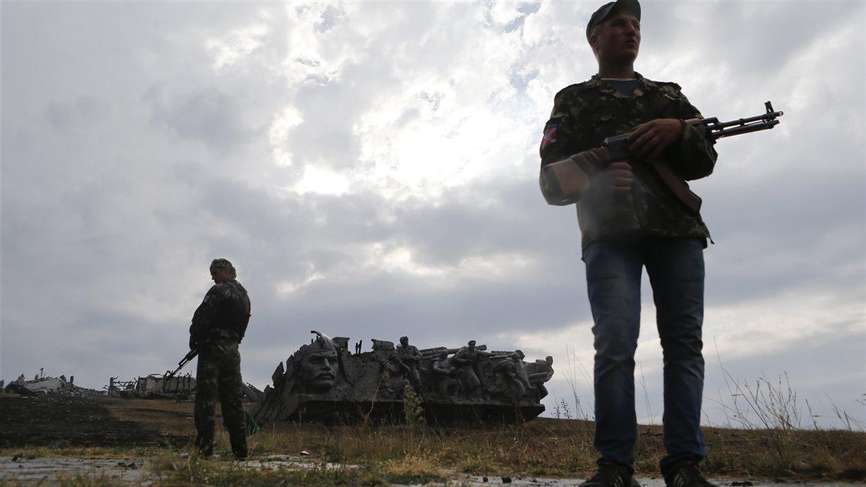 Les séparatistes prorusses seraient prêts à établir un corridor humanitaire pour laisser partir des soldats ukrainiens encerclés.