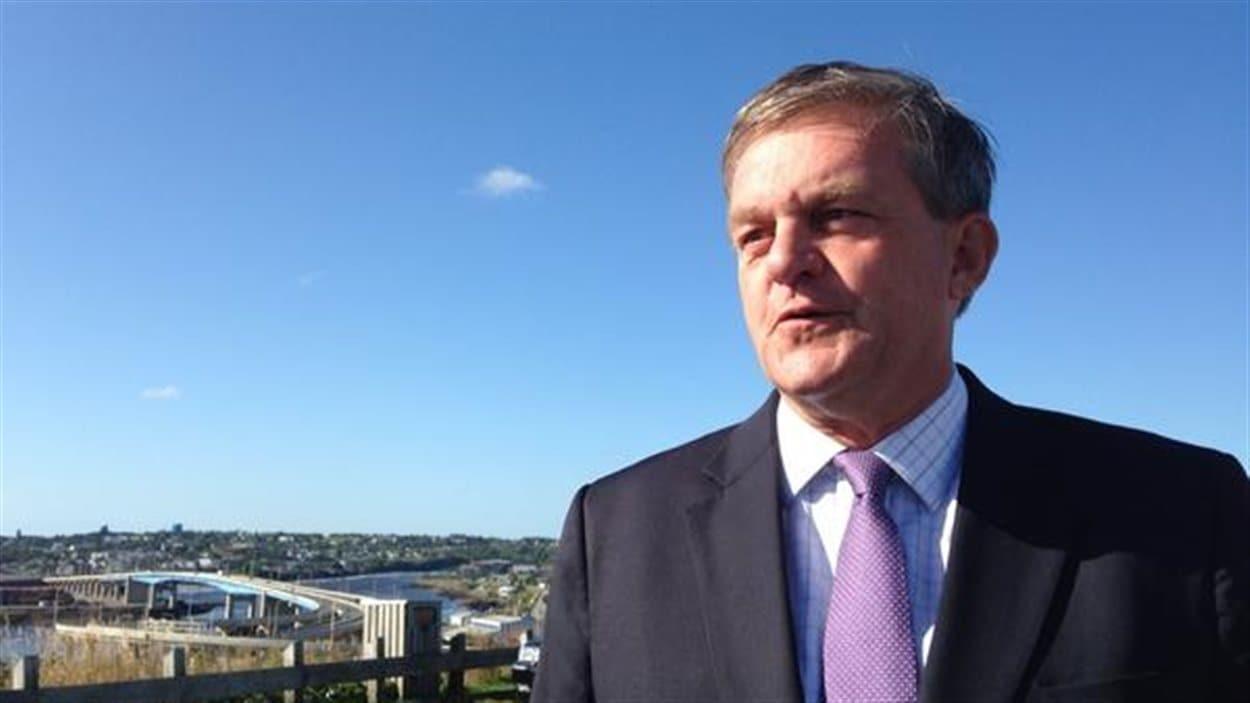 Le chef du Parti progressiste-conservateur, David Alward