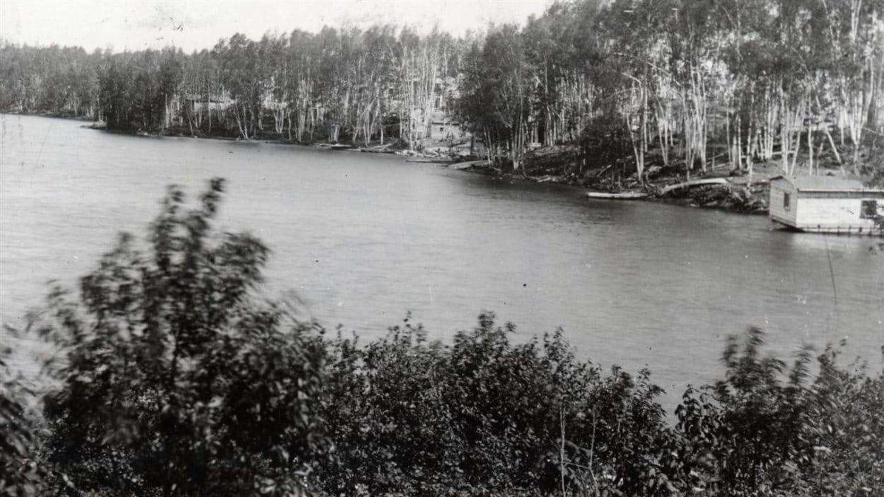 Lac Osisko à Rouyn en 1928