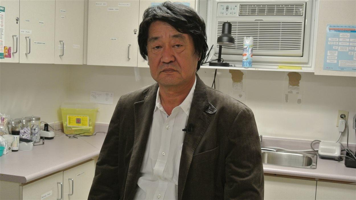 Le docteur Masanori Hanada, directeur du Centre de recherche sur Minamata au Japon