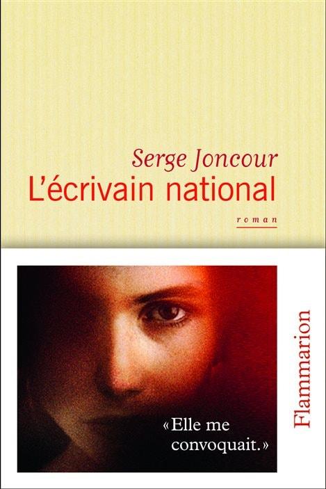 La couverture de « L'écrivain national », de Serge Joncour.
