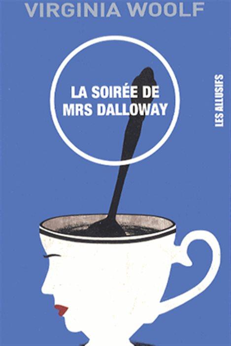 Détail de la couverture de « La soirée de Mrs Dalloway », de Virginia Woolf.
