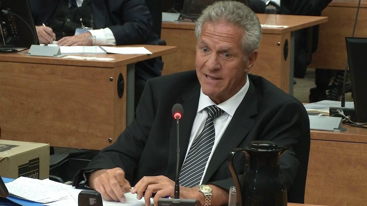 Tony Accurso répond à des constats de la procureure Sonia LeBel.