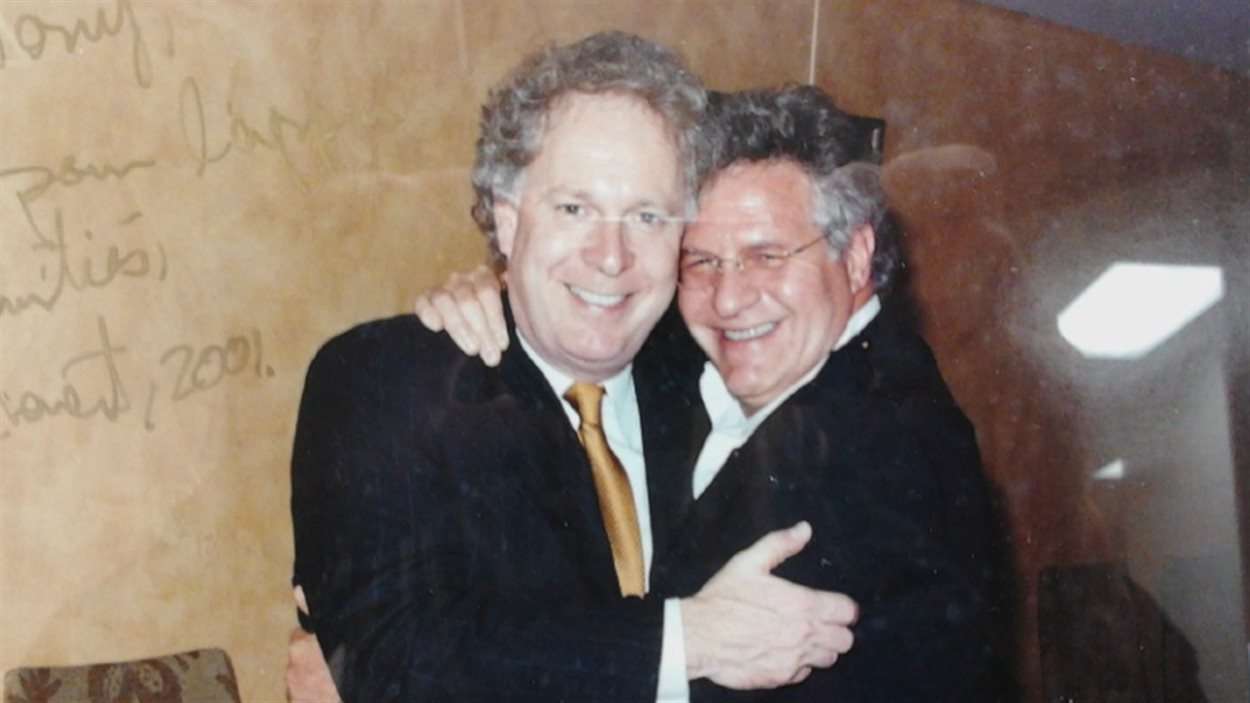 Jean Charest et Tony Accurso