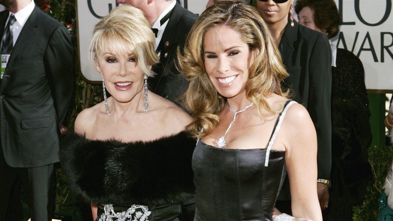 Joan Rivers et sa fille Melissa en 2005