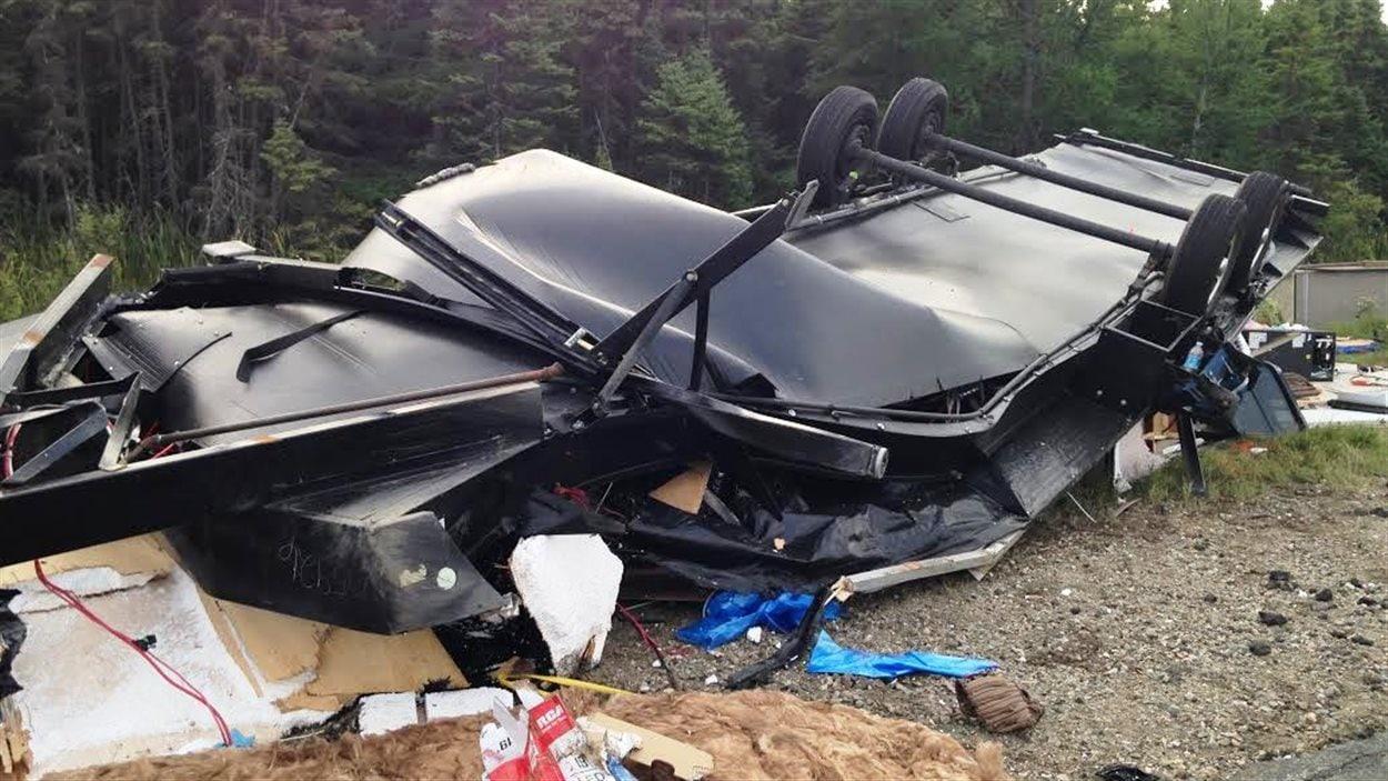 Accident à Saint-Louis-de-Kent