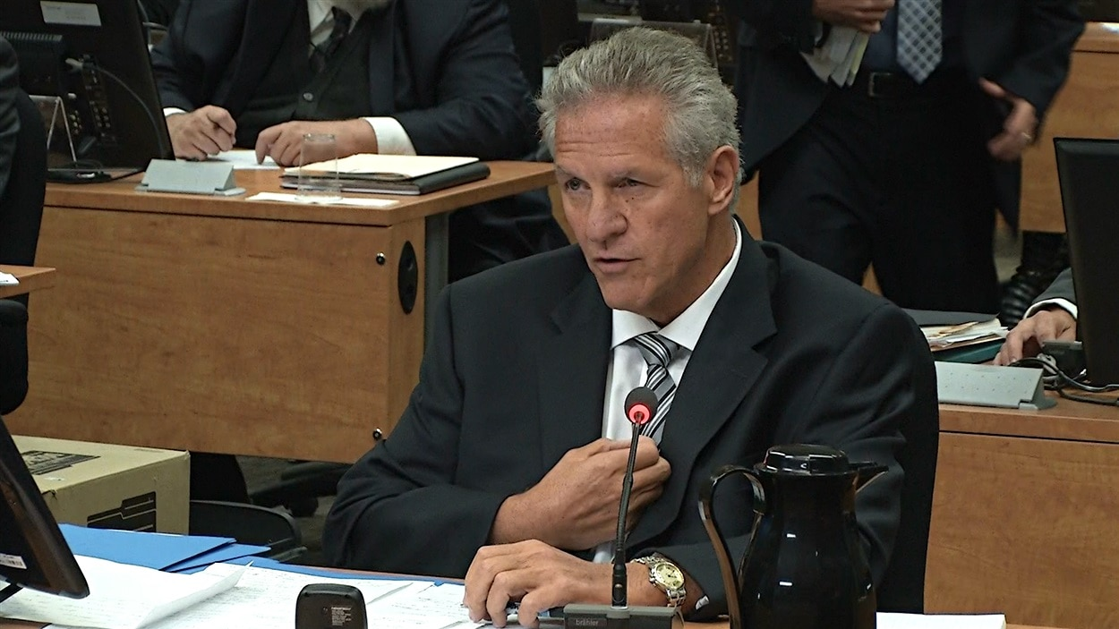 Tony Accurso à son 4e jour de témoignage à la CIEC.