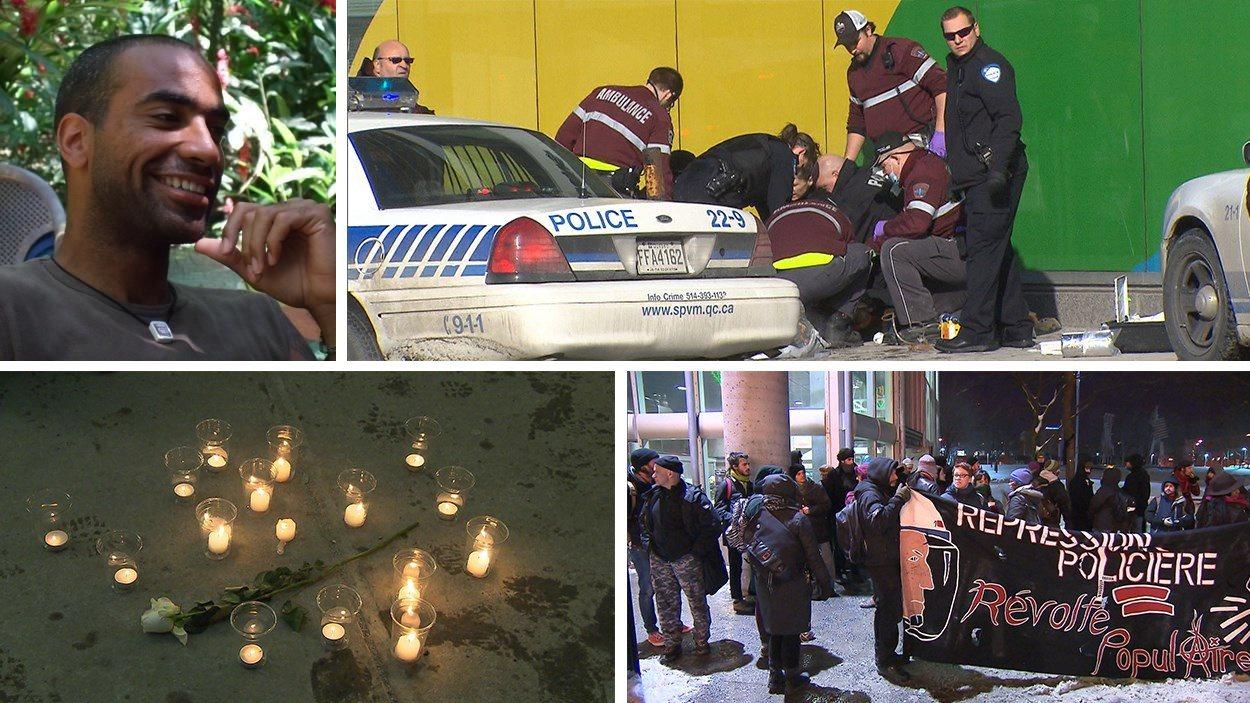 Alain Magloire a perdu la vie lors d'une intervention policière le 3 février 2014, à Montréal.