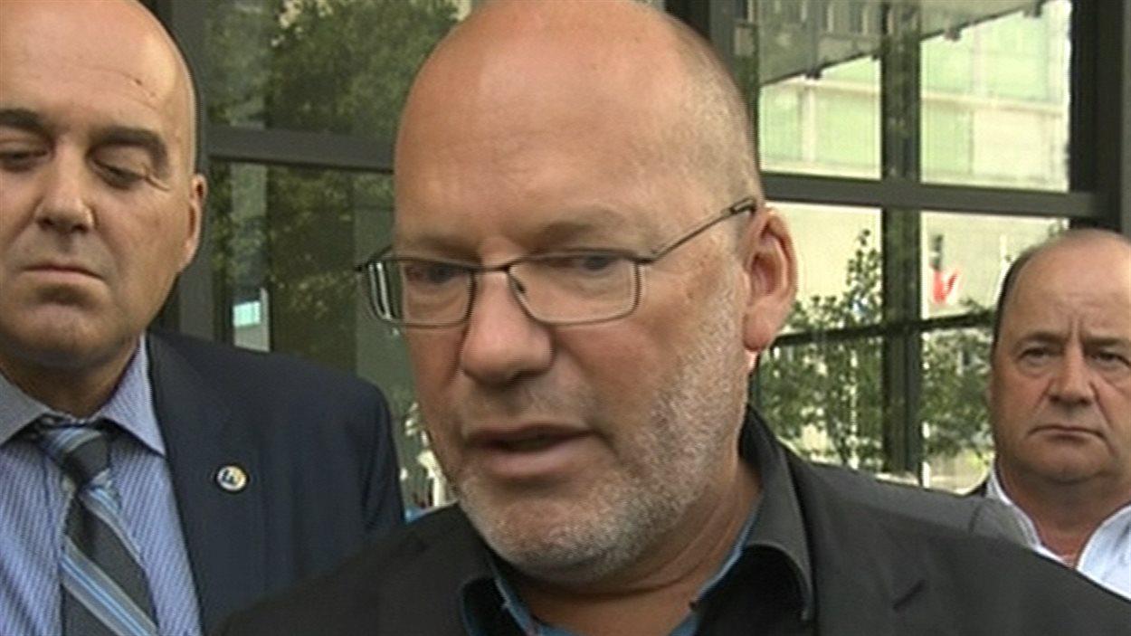 Le porte-parole de la Coalition syndicale pour la libre négociation, Marc Ranger