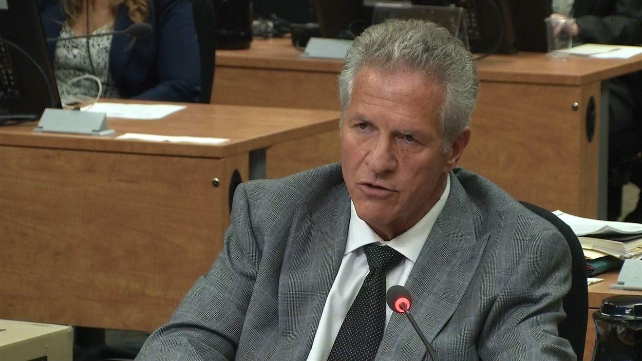 Tony Accurso à la commission Charbonneau