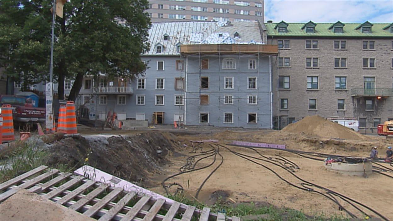Les chambres seront situées dans l'édifice patrimonial.