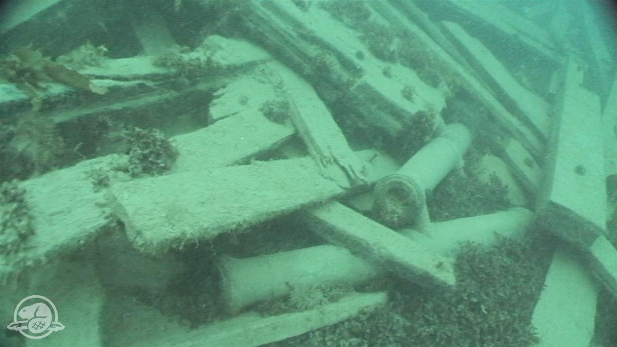 Les premières images sous-marines du navire retrouvé de l'expédition Franklin