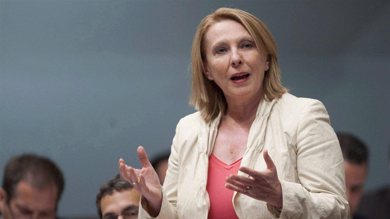 La ministre des Relations internationales, Christine Saint-Pierre