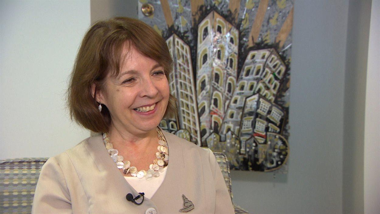 June Creelman, responsable de la programmation du Musée canadien pour les droits de la personne.