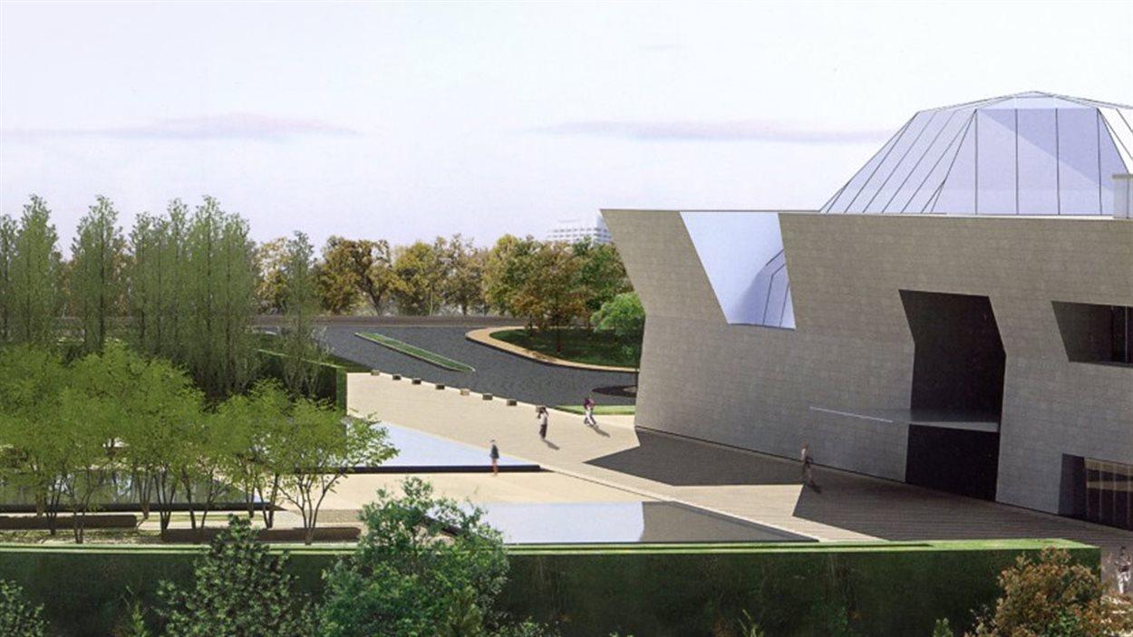 Le musée est situé sur le site du Centre ismaélien de Toronto dans le nord-est de la ville.