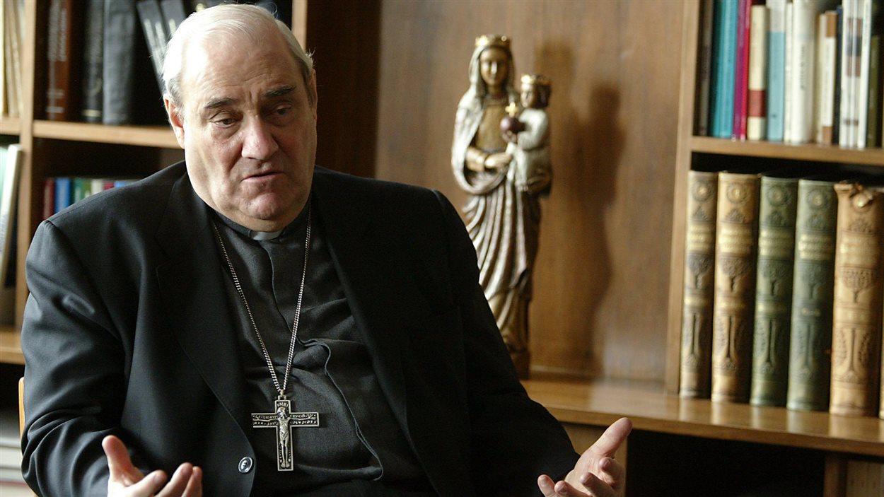 Le cardinal Jean-Claude Turcotte