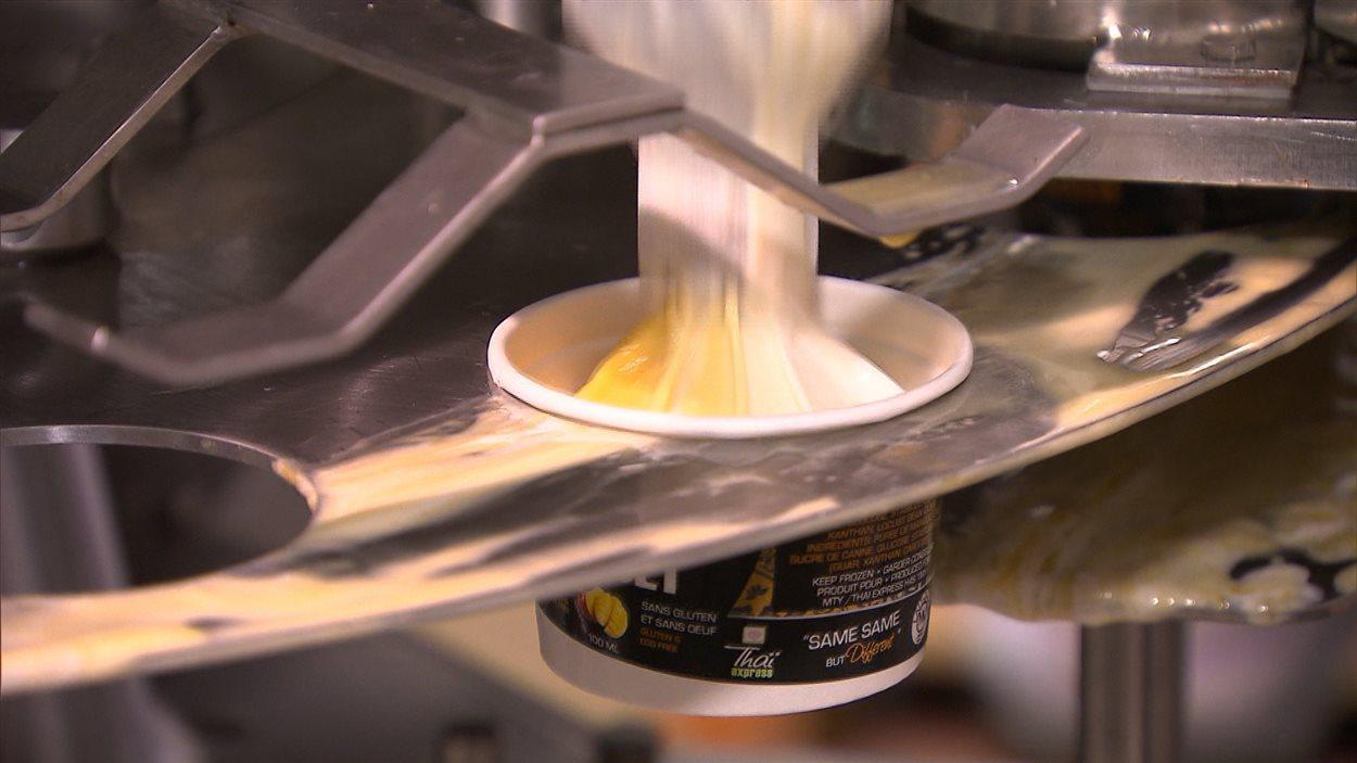 L'entreprise Solo Fruit se spécialise dans la fabrication de sorbet et de crème glacée à base de fruits.