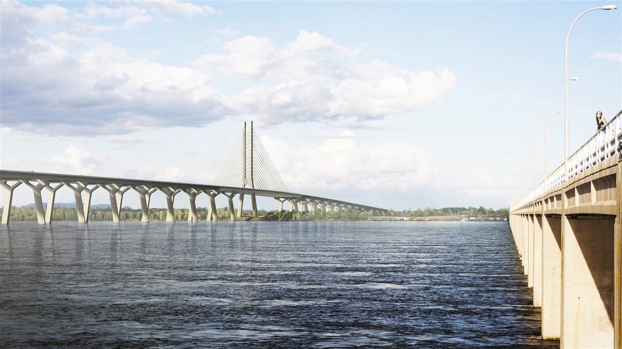 Aperçu du nouveau pont Champlain