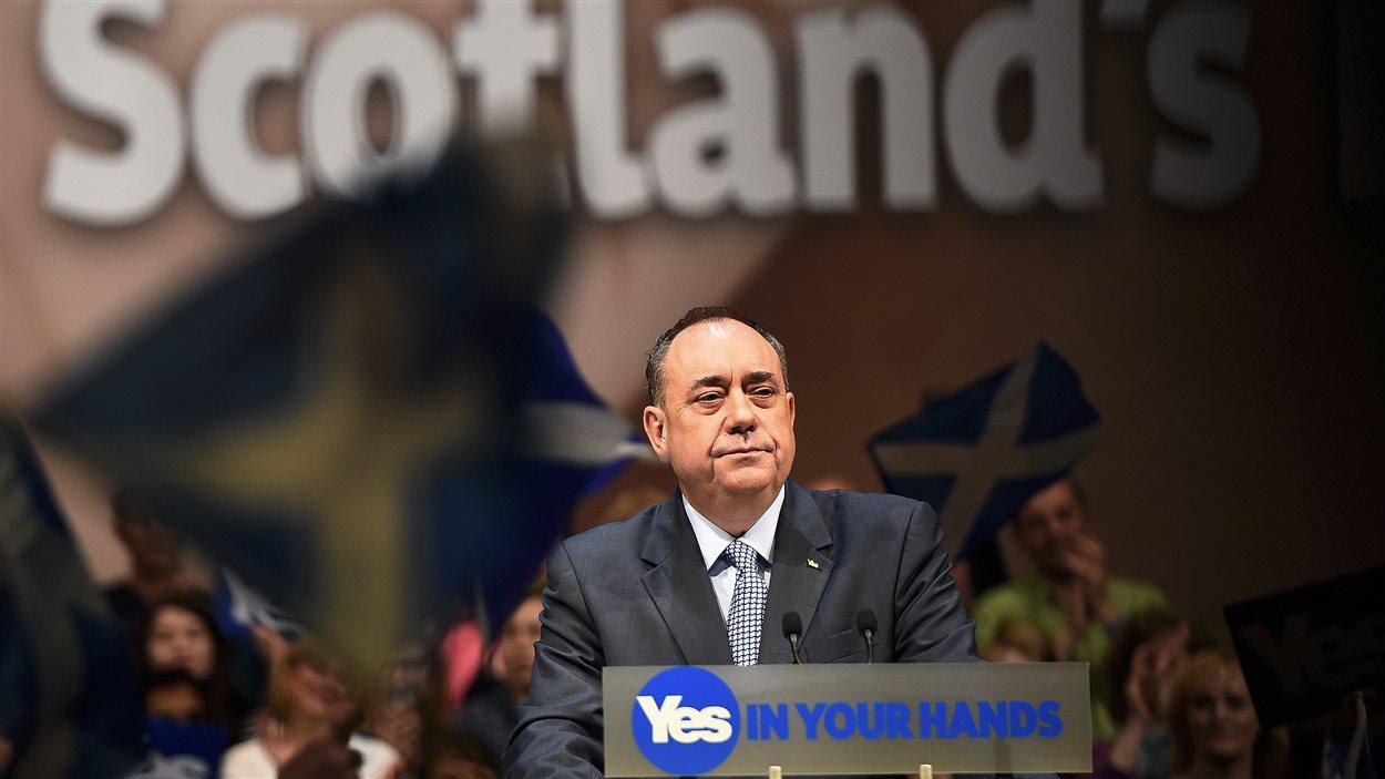 L'ancien premier ministre écossais, Alex Salmond