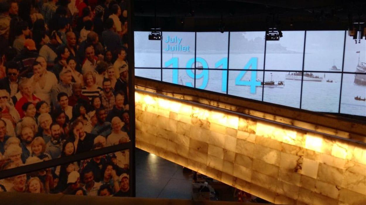 Exposition controversée au Musée canadien pour les droits de la personne.