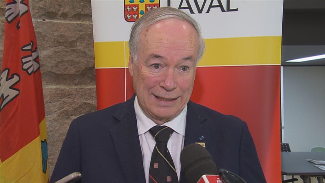Denis Brière, recteur de l'Université Laval