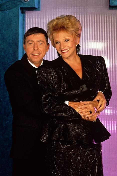 Gilles Latulippe et Suzanne Lapointe au Gala Excellence de La Presse en 1991.