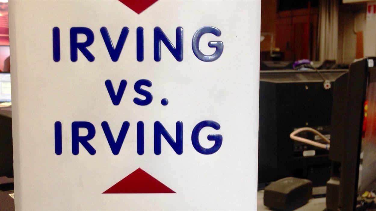 livre Irving vs Irving.