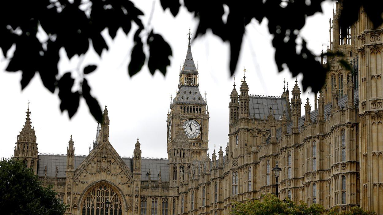 Le parlement britannique à Londres