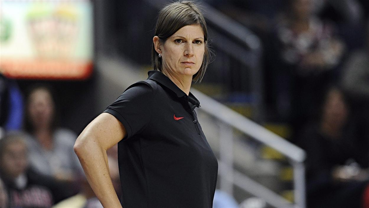 Lisa Thomaidis, entraîneuse de l'équipe canadienne
