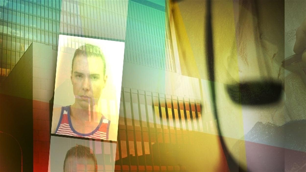 Luka Rocco Magnotta dans le box des accusés