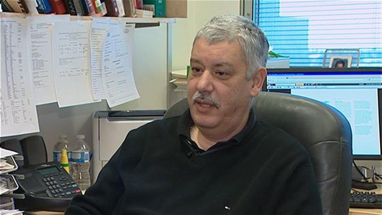 Amr Henni, professeur en chimie industrielle à l'Université de Regina
