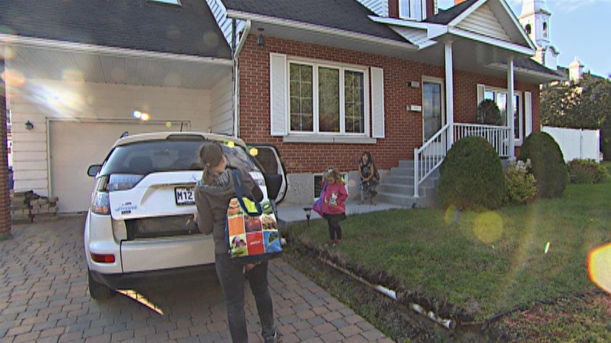 Retour en région pour un couple de Montréal et leurs trois enfants