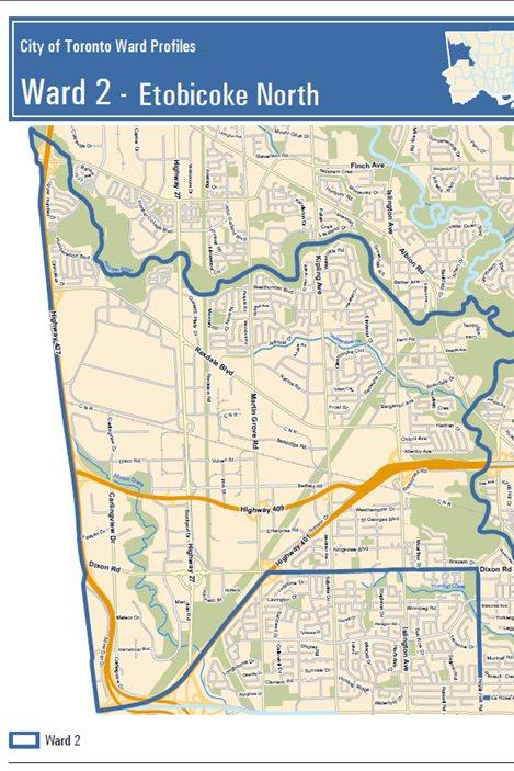 Le maire sortant, Rob Ford, cherche encore une fois à représenter ce secteur au cœur de la Ford Nation en tant que conseiller municipal.
