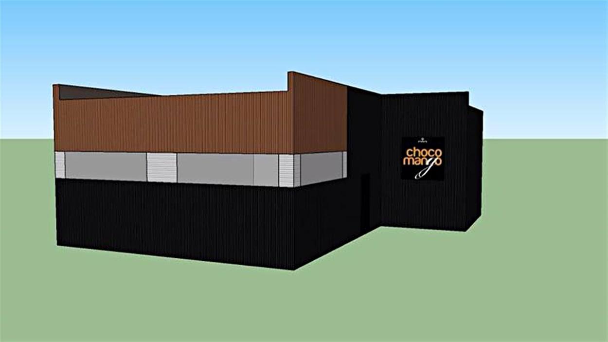 Nouvel édifice de Choco-Mango.