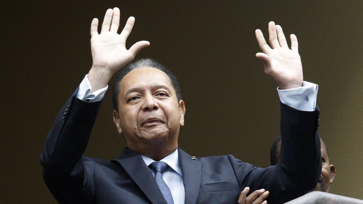 Jean-Claude Duvalier, le 18 janvier 2011