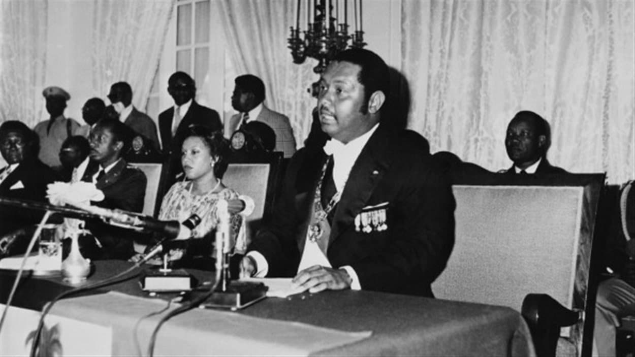 Jean-Claude Duvalier en 1976.