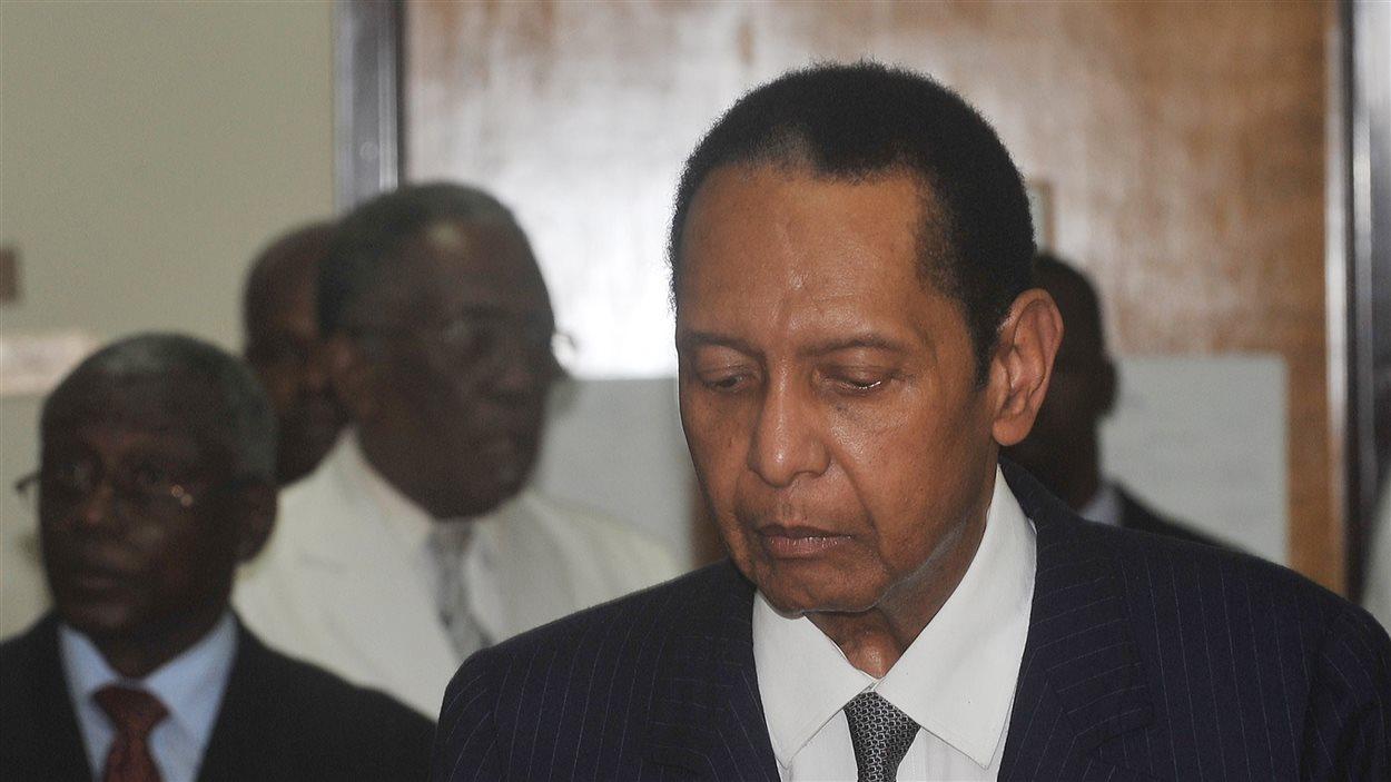L'ancien président haïtien Jean-Claude «Bébé Doc» Duvalier est décédé le 4 octobre 2014.