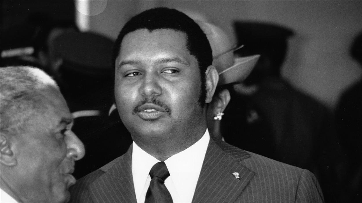 Jean-Claude Duvalier en 1975